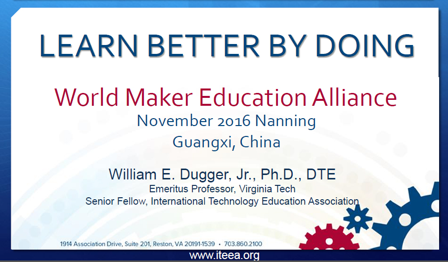 Learn Better by Doing - World Maker Education Alliance