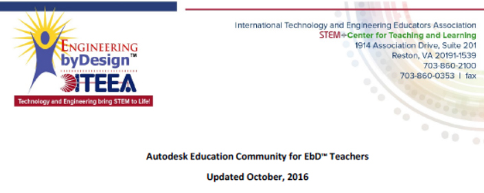 Autodesk Education Community for EbD™ Teachers