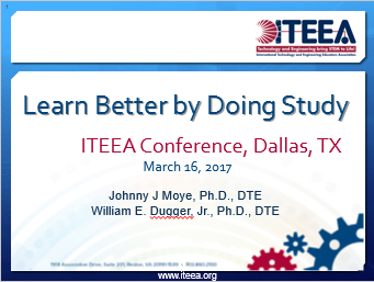 Learn Better by Doing ITEEA Presentation 2017
