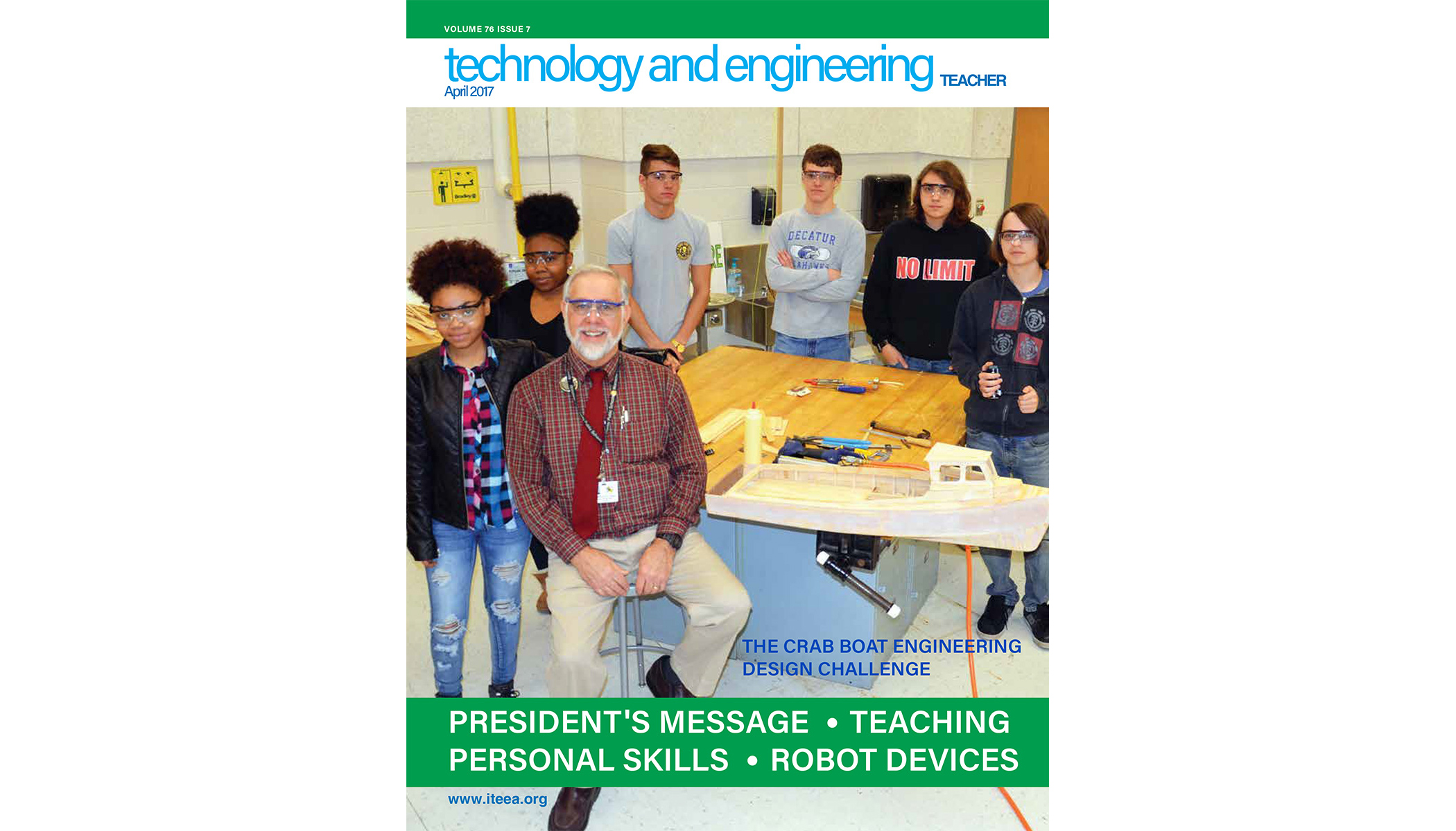 Here's a sampling of what's available in the April 2017 issue of Technology and Engineering Teacher
