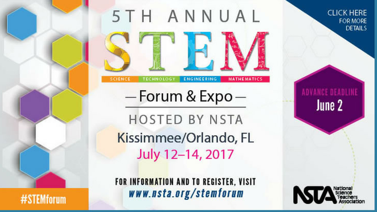 Register Today for the NSTA STEM Forum & Expo