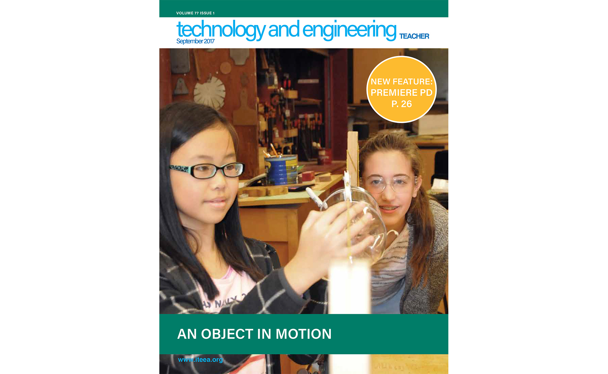 Here's a Sampling of What's Available in the September Issue of Technology and Engineering Teacher