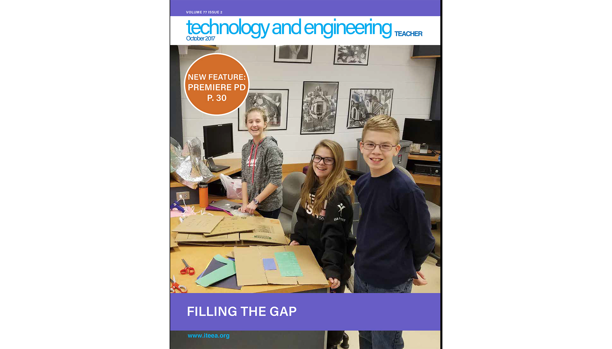 Here's a Sampling of What's Available in the October 2017 issue of Technology and Engineering Teacher
