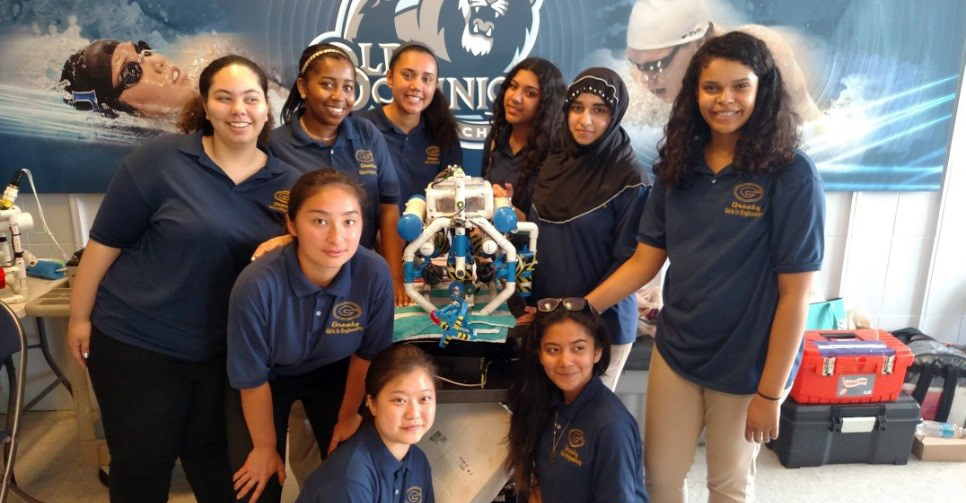Five Years Later...Granby High School's Girls In Engineering Program