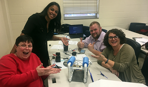 ITEEA's STEM Center Conducts Authorized Trainer Institute at Louisiana Tech University