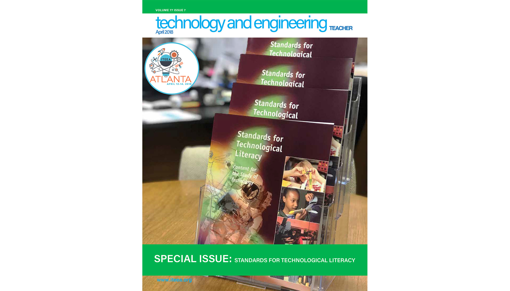 Here's a sampling of what's available in the April 2018 issue of Technology and Engineering Teacher