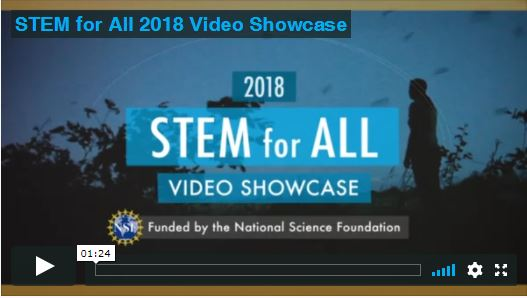 2018 STEM for All Video Showcase is coming on May 14-21.