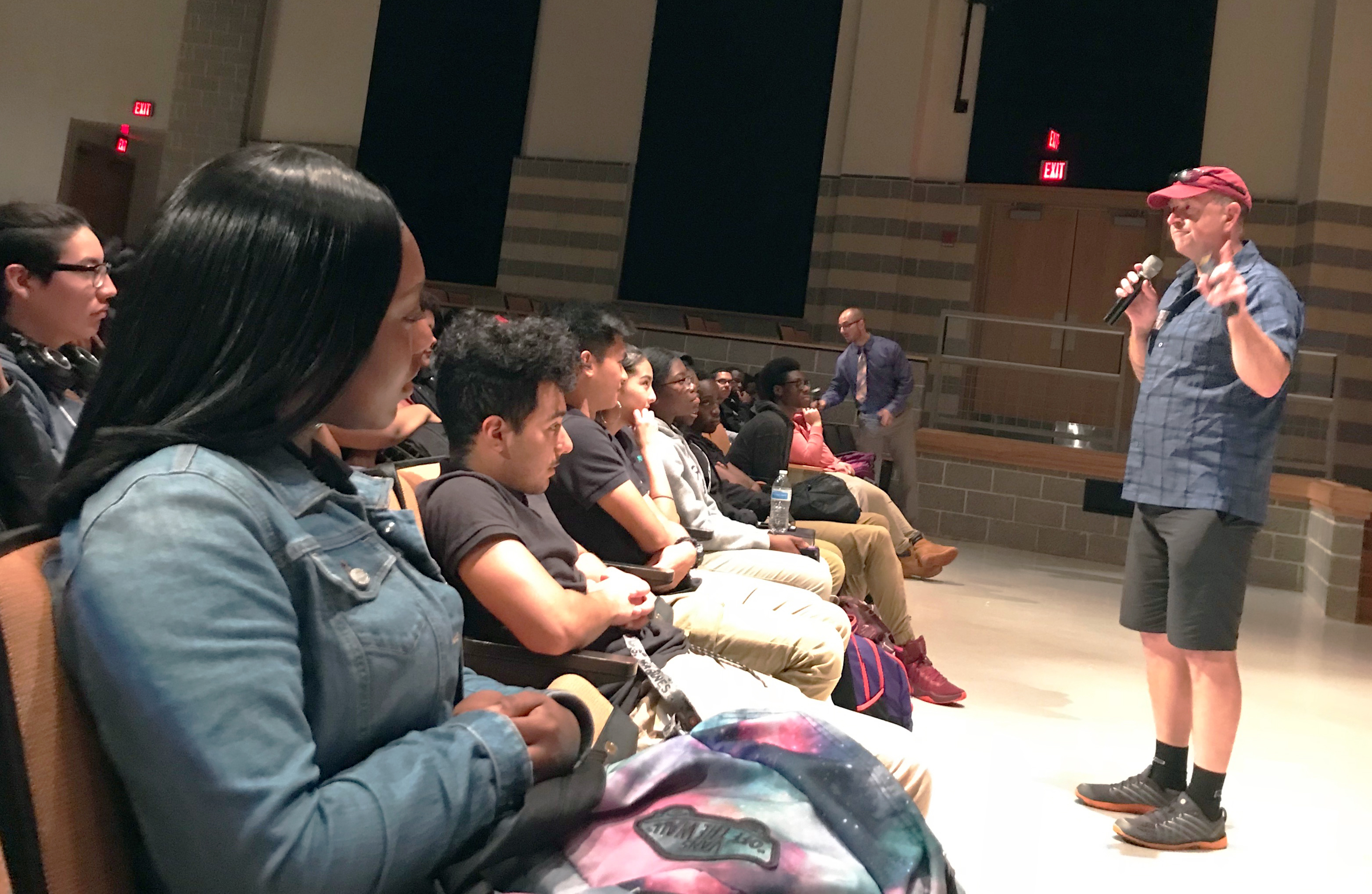 ITEEA Atlanta Keynoter Addresses Maryland High School