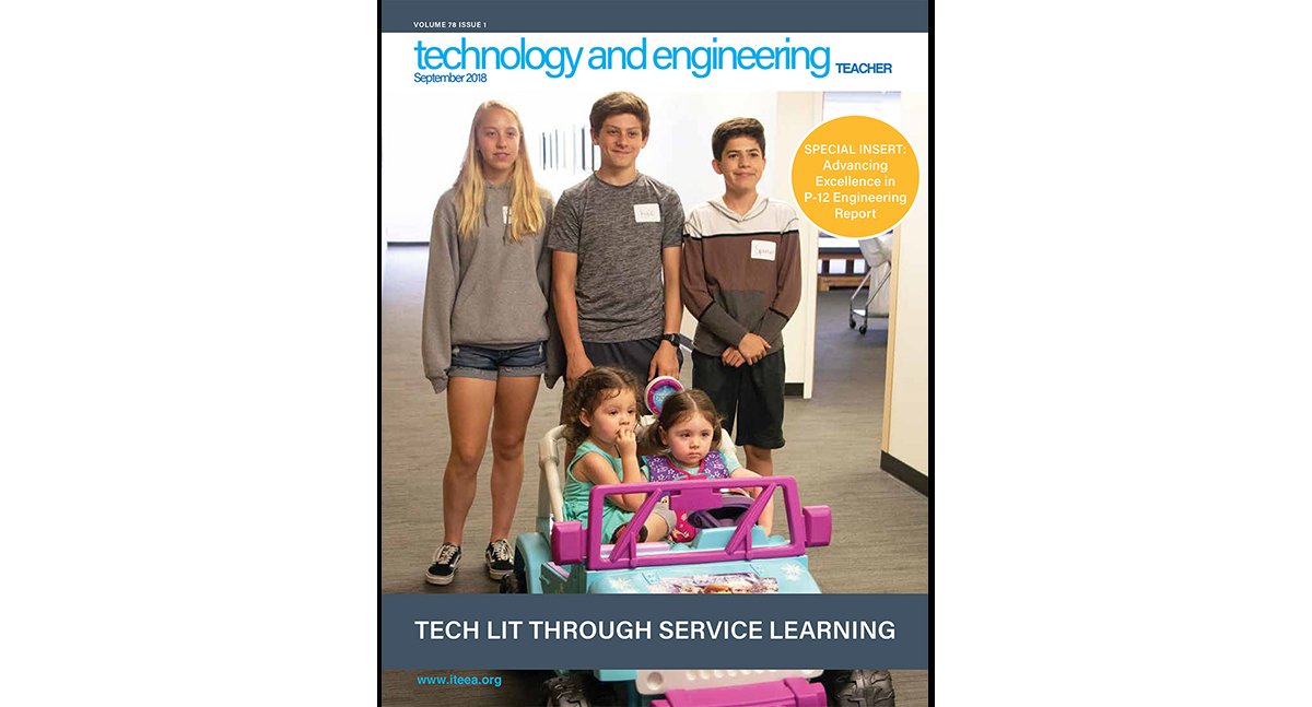 Here's a Sample of What's Available in the September 2018 Issue of Technology and Engineering Teacher