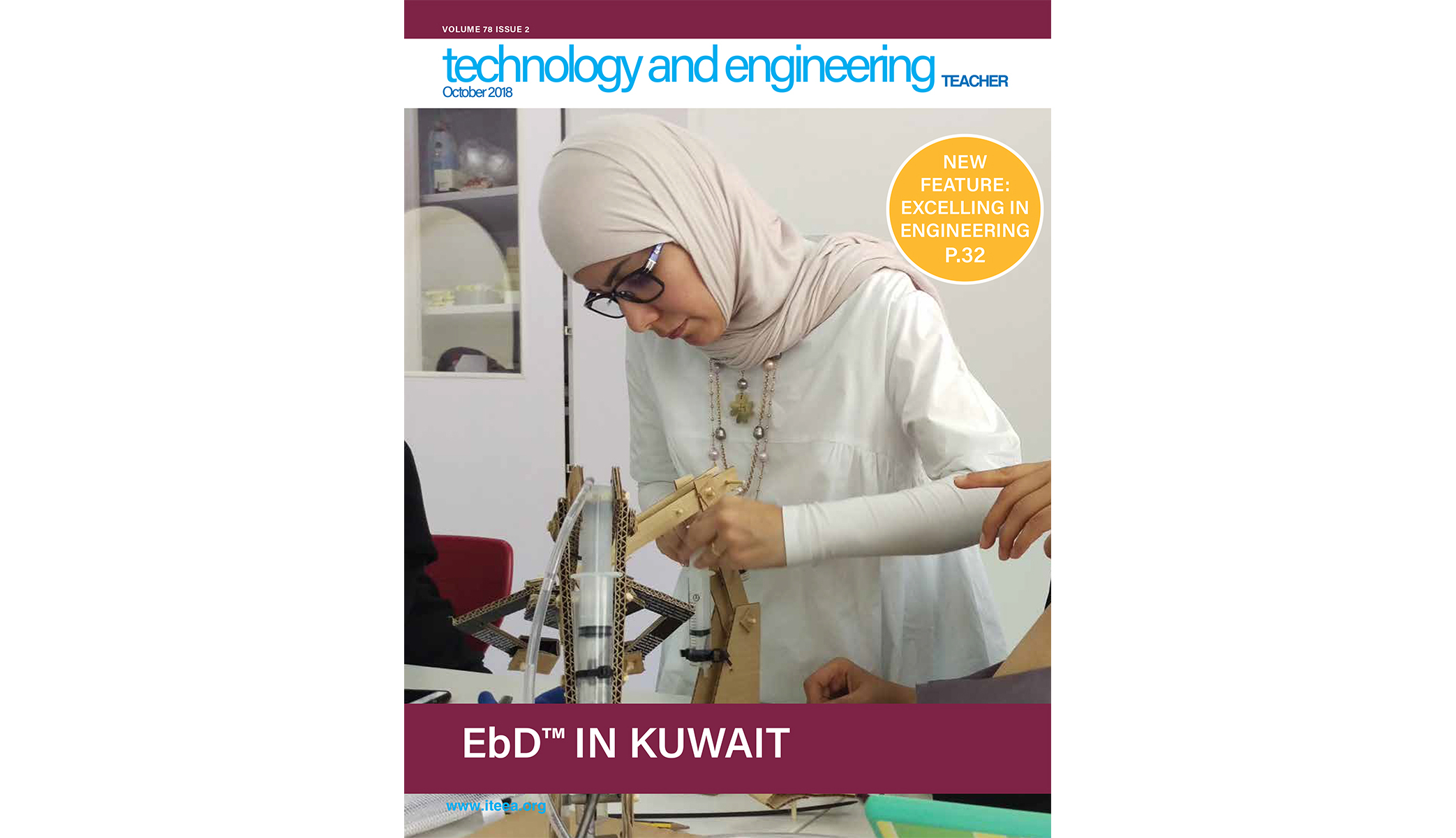 Here's a Sample of What's Available in the October 2018 issue of Technology and Engineering Teacher