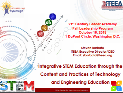ITEEA 21st Century Leadership Academy, Washington DC, 2018 - Leadership in Professional Organizations
