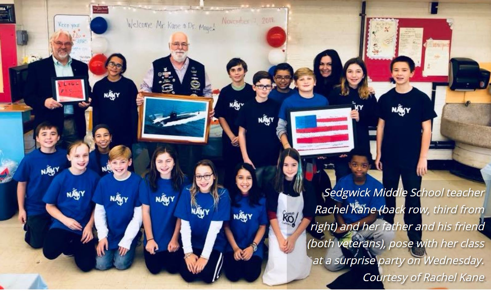 MS Students Surprise ITEEA Member Vets with Heartwarming
