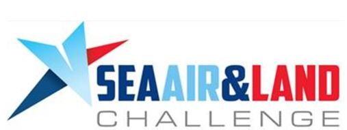 Sea Air and Land Challenge logo