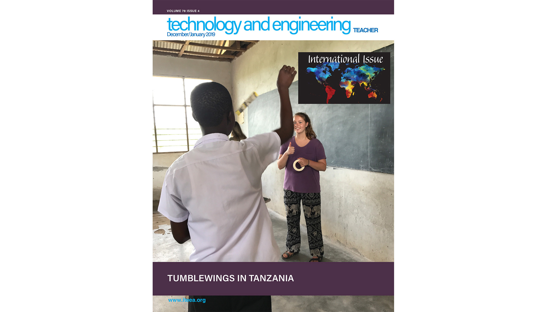 Here's a Sampling of What's Available in the December/January 2019 Issue of Technology and Engineering Teacher