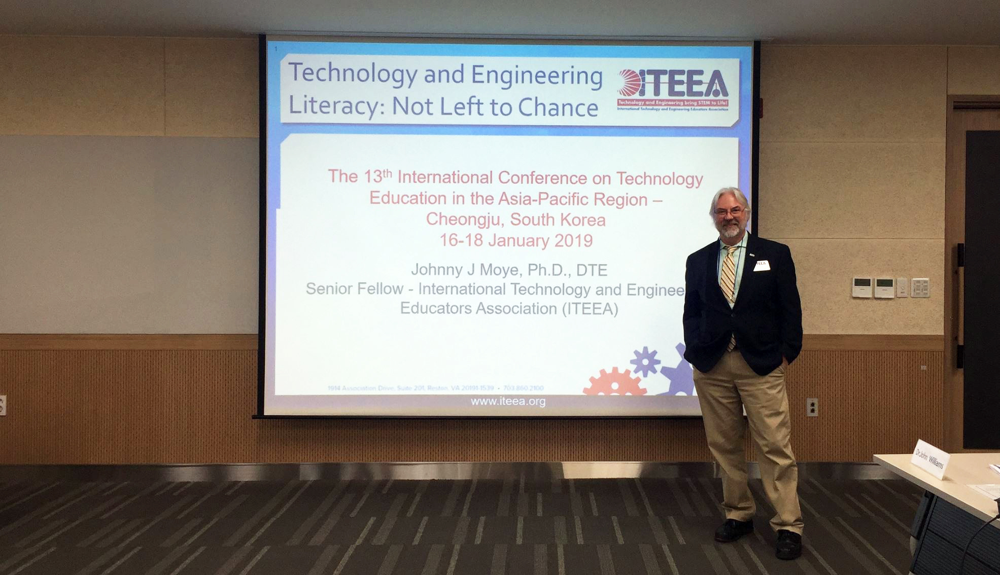 ITEEA Represented at 13th Int'l Conference on Tech Ed in the Asia-Pacific Region