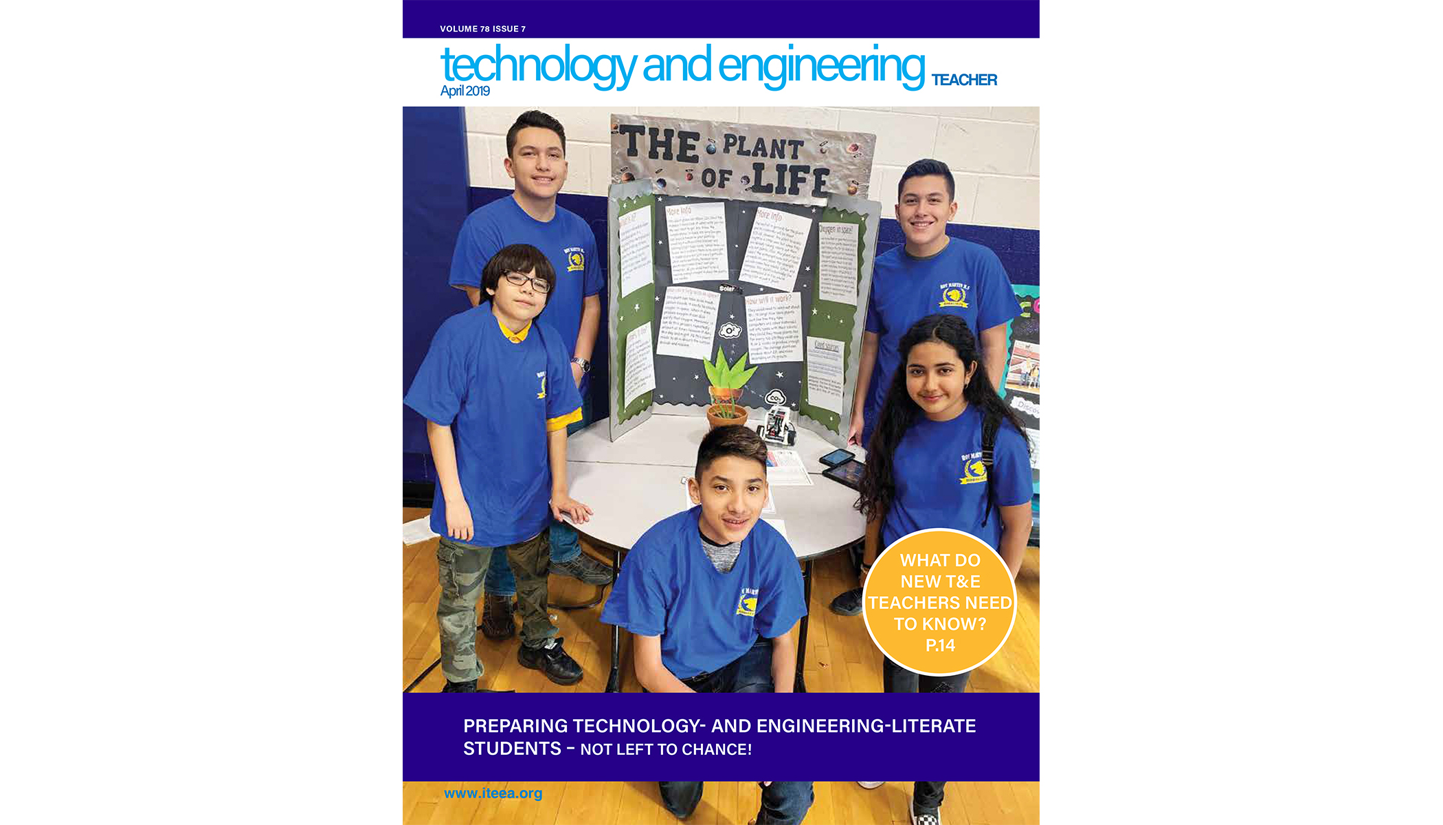Here's a Sample of What's Available in the April issue of Technology and Engineering Teacher