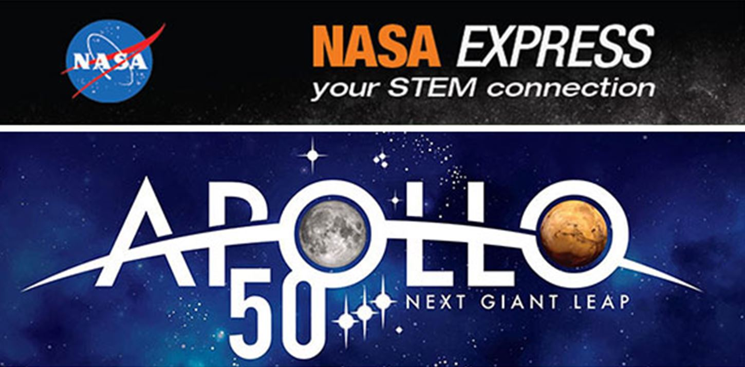 SPECIAL EDITION: NASA Express - STEM Forward to the Moon for the Apollo 50th