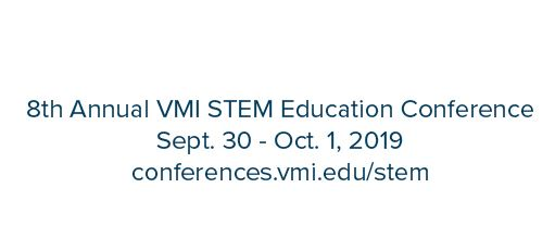 Call for Presentations: VMI STEM Ed Conference