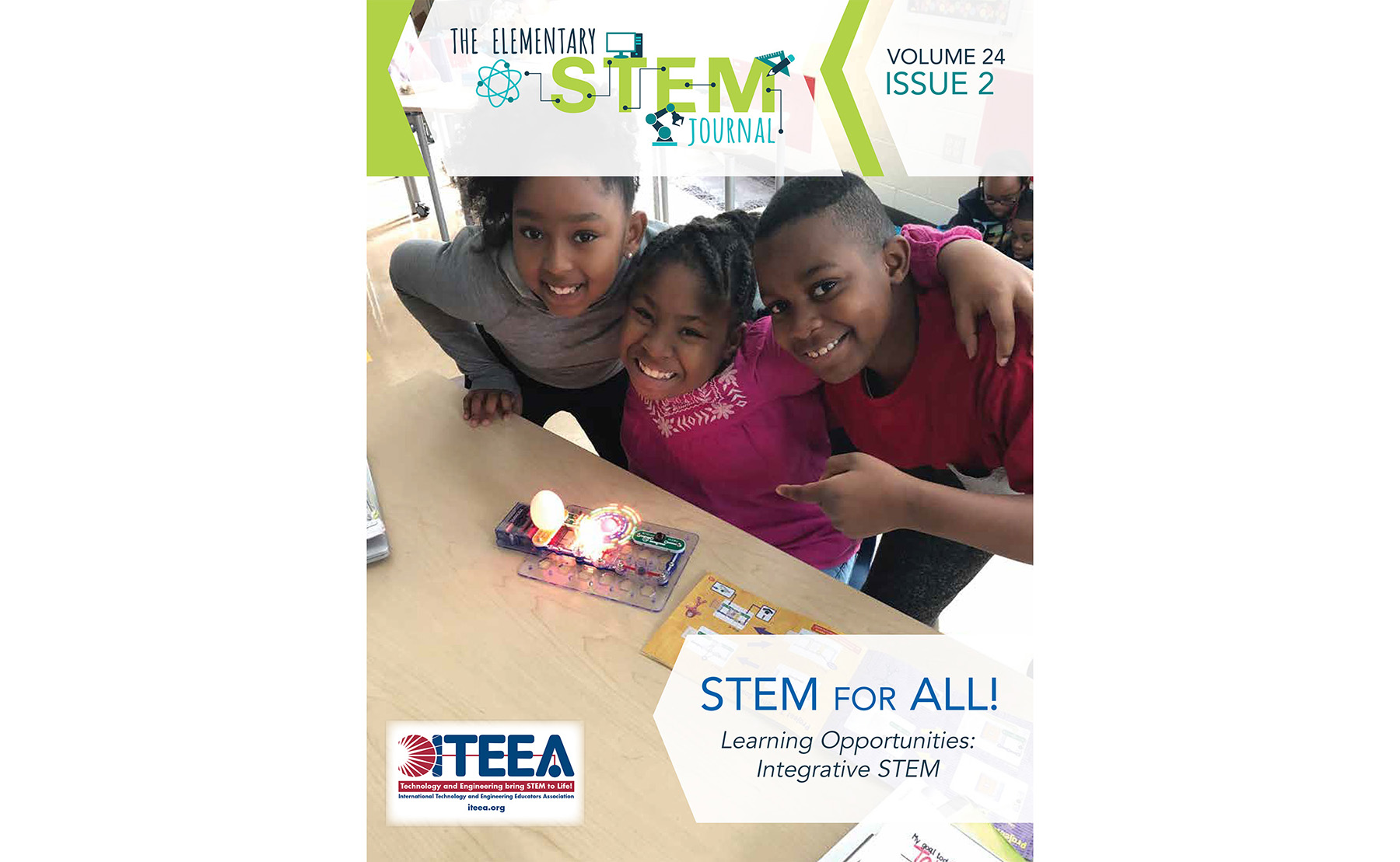 Here's a Sampling of What's Available in the December 2019 Issue of ITEEA's Elementary STEM Journal