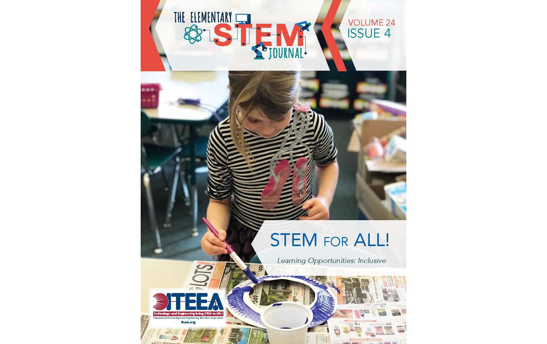 ITEEA's Elementary STEM Journal Announces Theme for 25th Anniversary Publishing Year