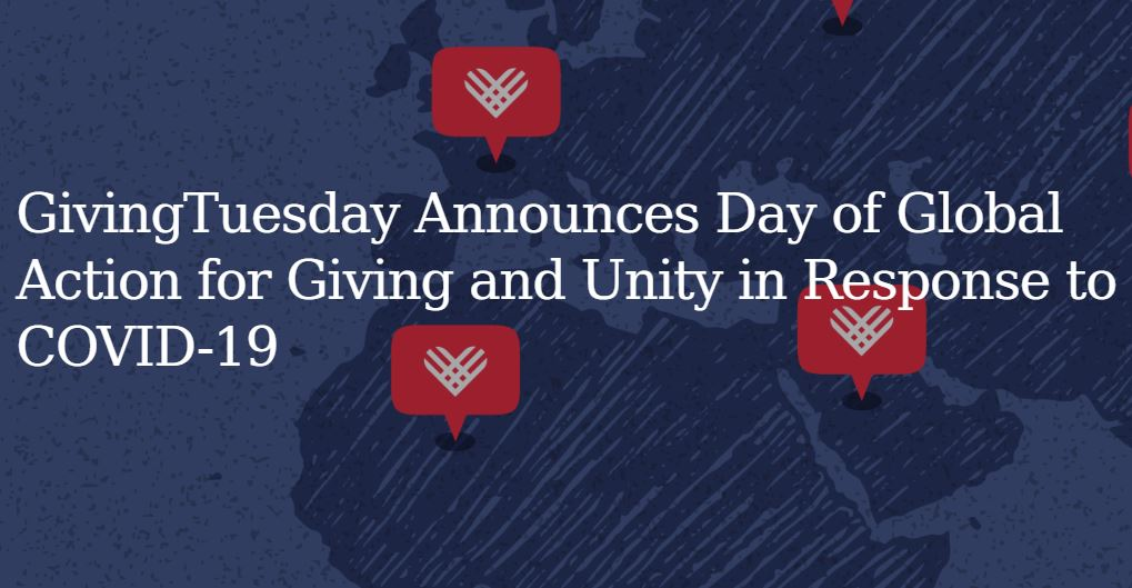 GivingTuesday: Day of Global Action for Giving and Unity in Response to COVID-19