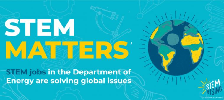 Department of Energy: STEM jobs are solving global issues