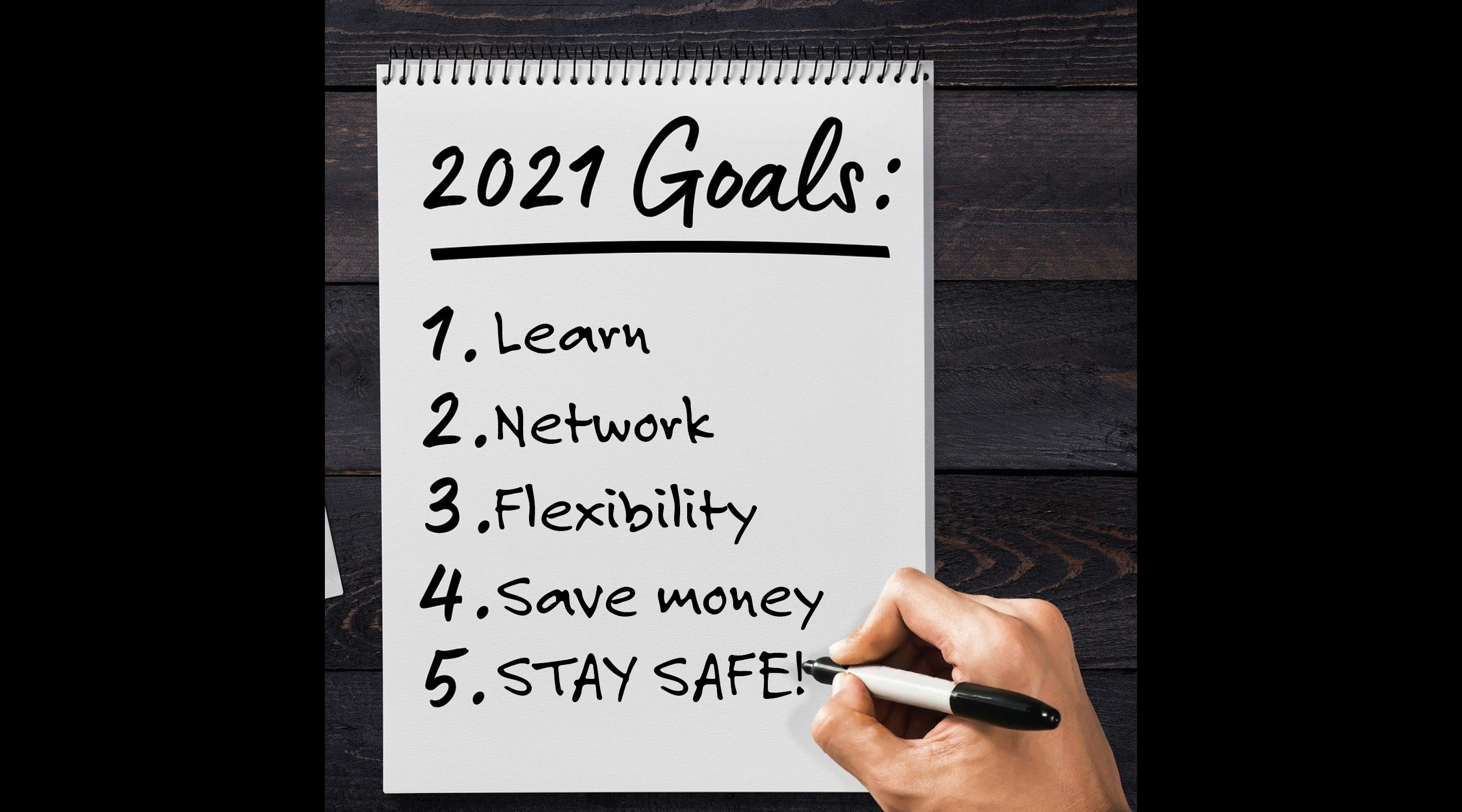 Resolve to Meet Your Goals in 2021!