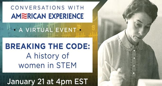 Free Virtual Event: Breaking the Code: A history of women in STEM (Virtual)