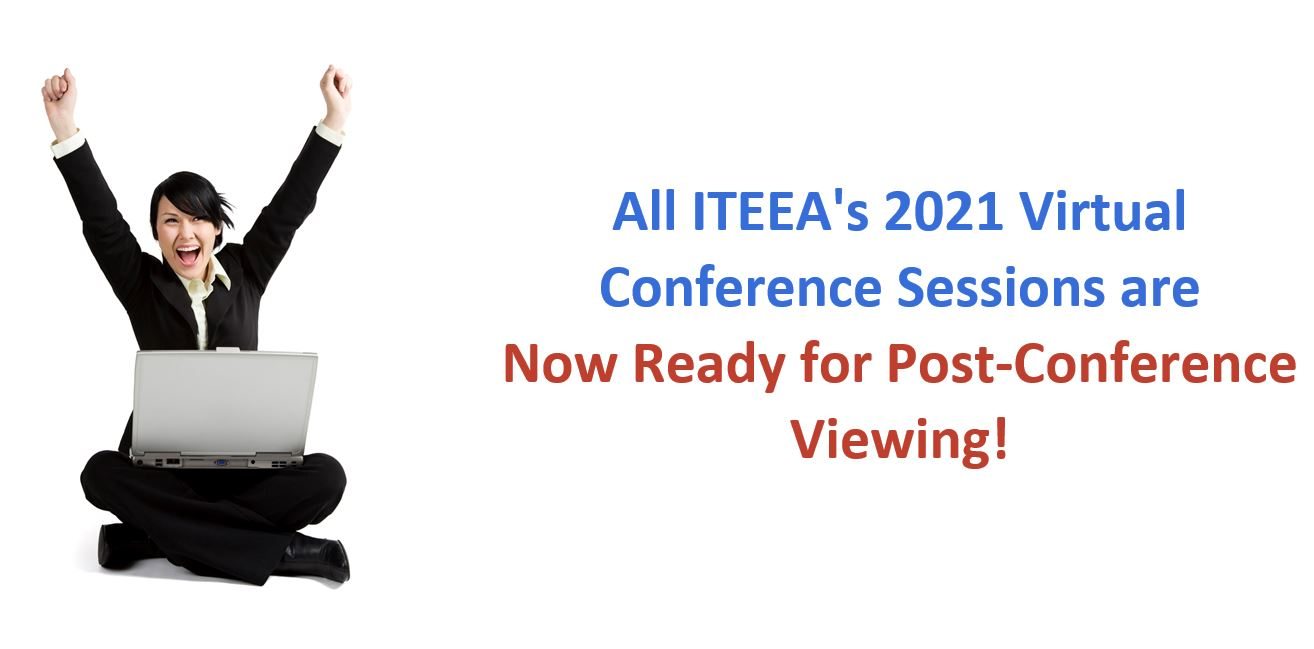 ITEEA 2021 Virtual Conference: Sessions Now Ready for