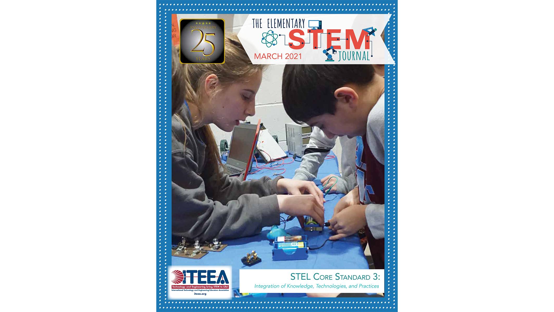 Here's a Peek Inside the March 2021 issue of The Elementary STEM Journal
