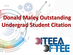 Maley Outstanding Undergraduate Student
