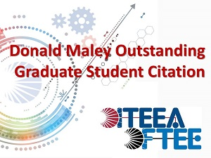 Maley Outstanding Graduate Student Citation