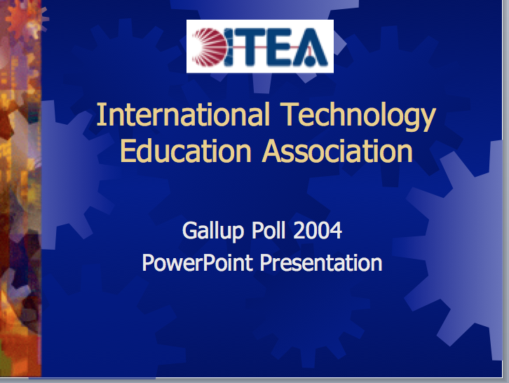 The student-centred learning environment used in 2004   download.