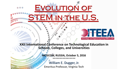 Evolution of STEM in the United States - Moscow, 2016